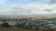 Stock Video Footage of Los Angeles overlook