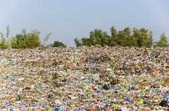 landfill - stock photo