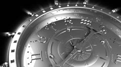 Silver Zodiac Gadget - stock footage