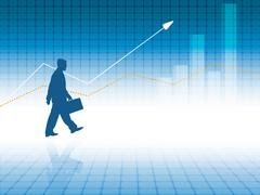 vector statistic backdrop. eps10 - stock illustration