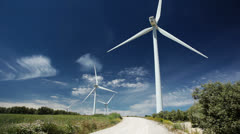 Wind power Stock Footage