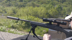Sniper Rifle Stock Footage