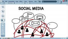Social Media - stock footage