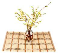Bamboo striped Stock Photos