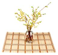 bamboo striped - stock photo