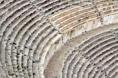 Amman amphitheater - Jordan - stock photo