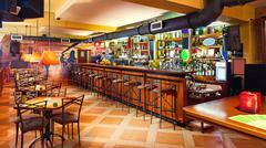 Pub interior Stock Photos