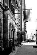 Patriotic Sidewalk Stock Photos