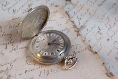 Old-time watch Stock Photos