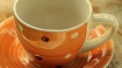 Preparing coffee - stock footage