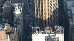 Skyscraper seen from the Empire State Building, New York Stock Footage
