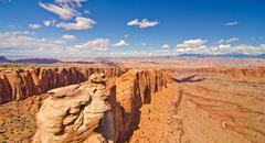 Canyonlands national park outside of moab, ut Stock Photos