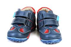Baby atheletic footwear Stock Photos