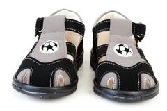 baby atheletic footwear - stock photo