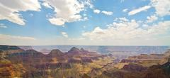 the north rim of the grand canyon - stock photo