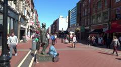 Dublin Streets 1 Stock Footage