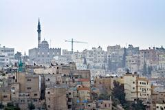 Amman - Jordan - stock photo