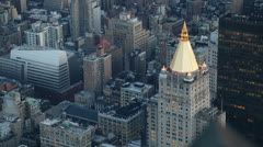 View from the Empire State Building, New York Stock Footage