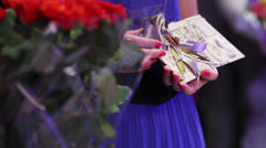 Guests with gifts Stock Footage