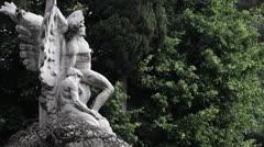 Sculpture - Statue - stock footage