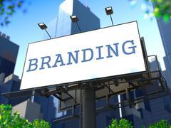 Brand Concept Billboardin. Piirros