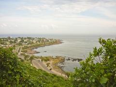 san antonio hill view - stock photo