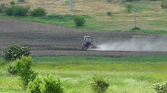 Tractor at Work 2 Stock Footage