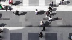 People walking - stock footage