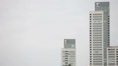 Buildings - stock footage