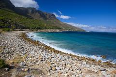 Oudekraal Bay in Cape Town, South Africa - stock photo