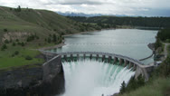 Stock Video Footage of Kerr Dam