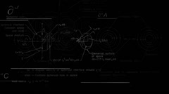 Physics background black  Stock Footage
