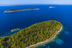 Adriatc landscape Stock Photos