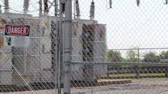 Electrical power station 1 Stock Footage