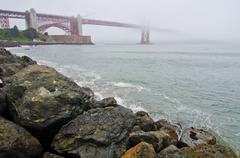 san francisco's golden gate bridge - stock photo
