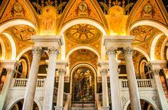 Library of Congress, Washington, DC, USA Stock Photos