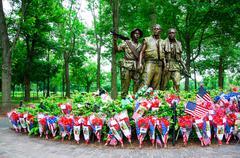 Vietnam Veterans Memorial, Washington DC, USA - stock photo