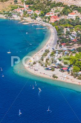 Stock photo of Croatia - tourist destination