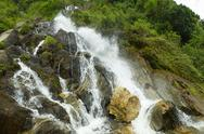 Stock Photo of chamana waterfall