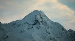 Tirol mountain sunset HD Stock Footage