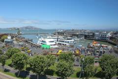 Pier 39 in San Francisco Timelapse 4k Stock Footage