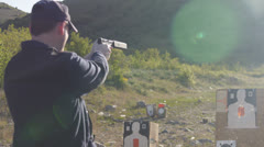 Handgun Stock Footage