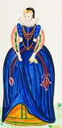 Costume royal honor Stock Illustration