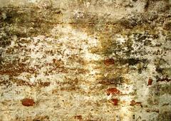 old brick walls - stock photo