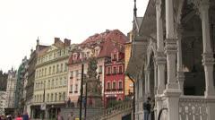 Karlovy Vary, Carlsbad, Karlsbad Stock Footage