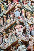 sri mariammam temple - stock photo