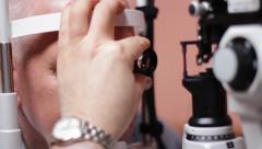 LASIK (Laser-Assisted in Situ Keratomileusis) Stock Footage