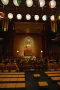buddha tooth relic temple & museum - stock photo