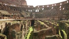 Roman Colosseum - Rome, Italy Stock Footage