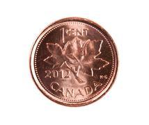 Ottawassa, Kanadassa, Avril 13, 2013, upouusi kiiltävä 2012 kanadalainen yhden s Kuvituskuvat